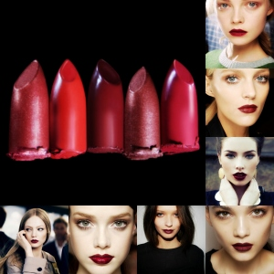 dark red lips blog post
